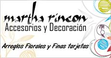 Martha Rincón ::Accesorios y Decoración